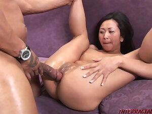 Blackzilla Works his Monster Cock Magic on Squirting Kitty
