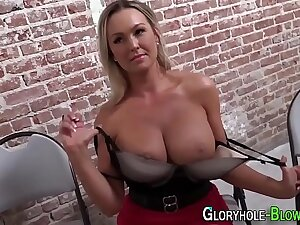 Be in charge blonde tugs bbc