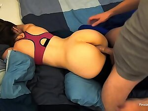 Cheating Wife Stranger Takes Condom Off