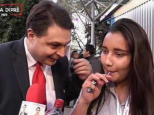 Strange video of a mexican girl around Andrea Dipre